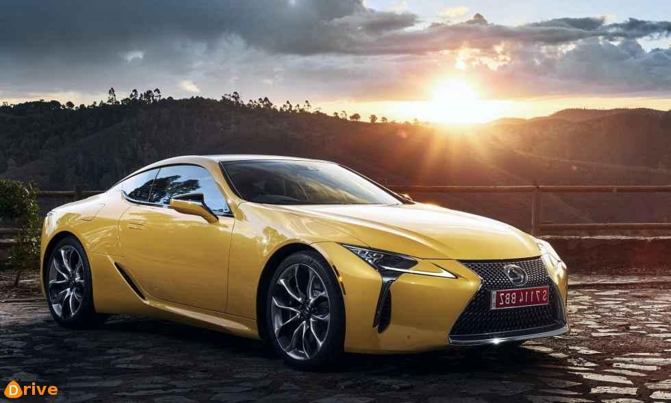 2019 Lexus LC Yellow Edition