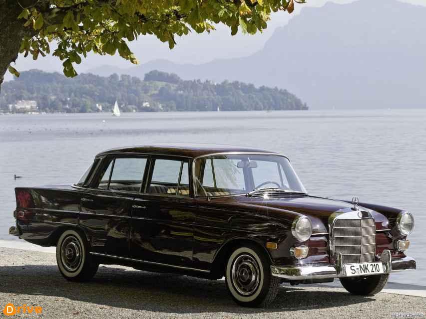 1960 Mercedes Heckflosse W110