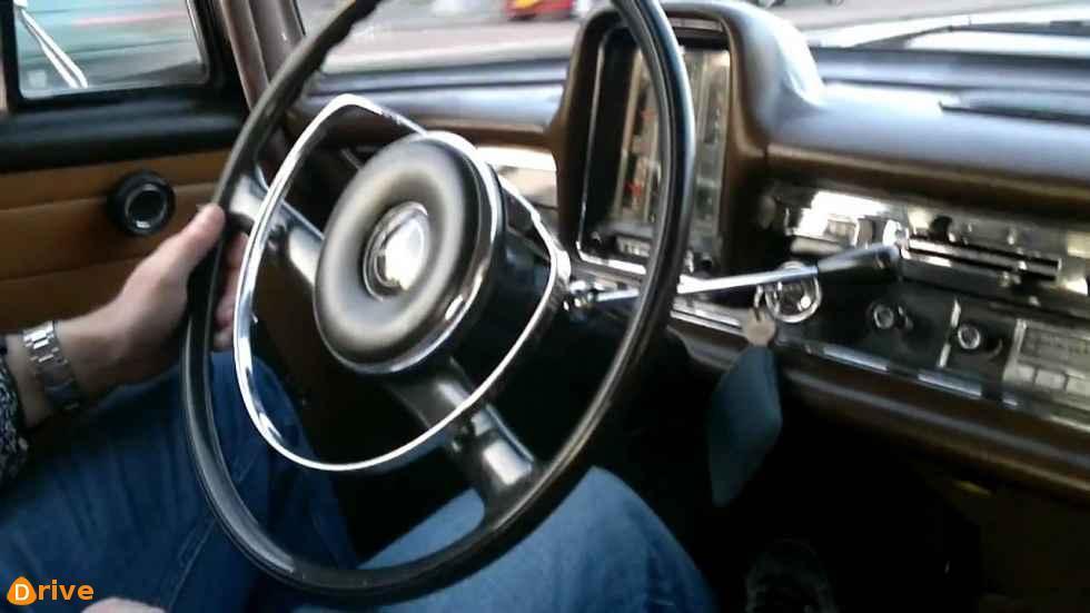 1960 Mercedes Heckflosse W110 interior
