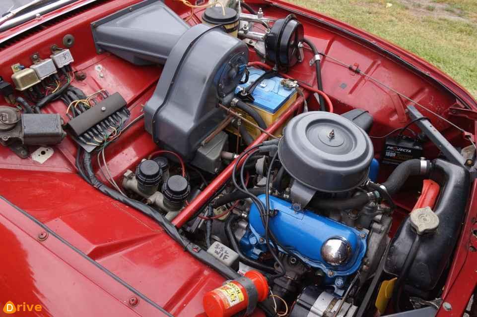 1979 Saab 96 engine