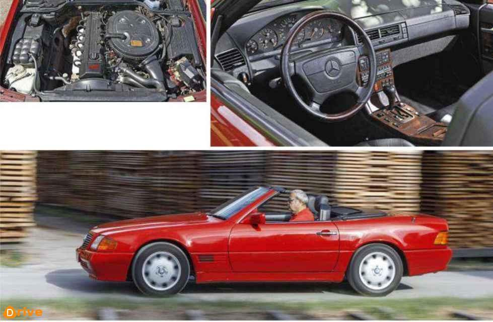 1995 Mercedes Benz 300 Sl R 129 Engine & Interior