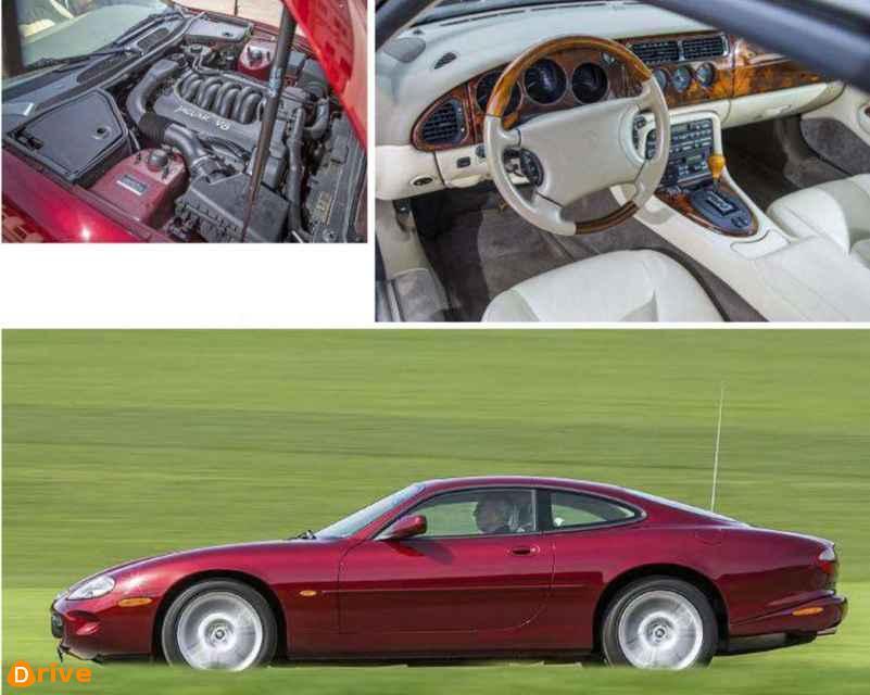 2005 Jaguar XK8 engine & interior
