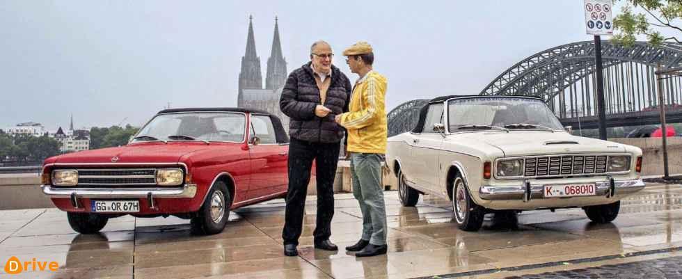 Ford P7 20 M Ts 2300 S Vs Opel Rekord C 1700 S