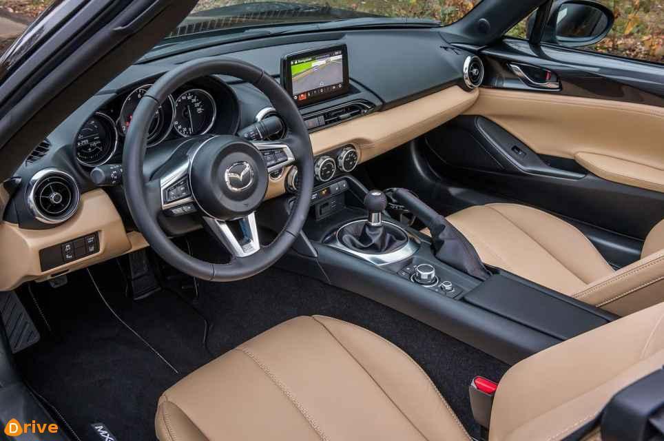 2018 Mazda MX 5 Takumi interior