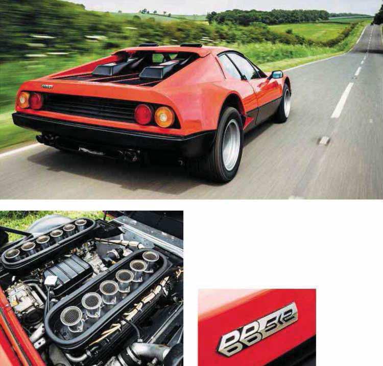 Ferrari 512 BB interior