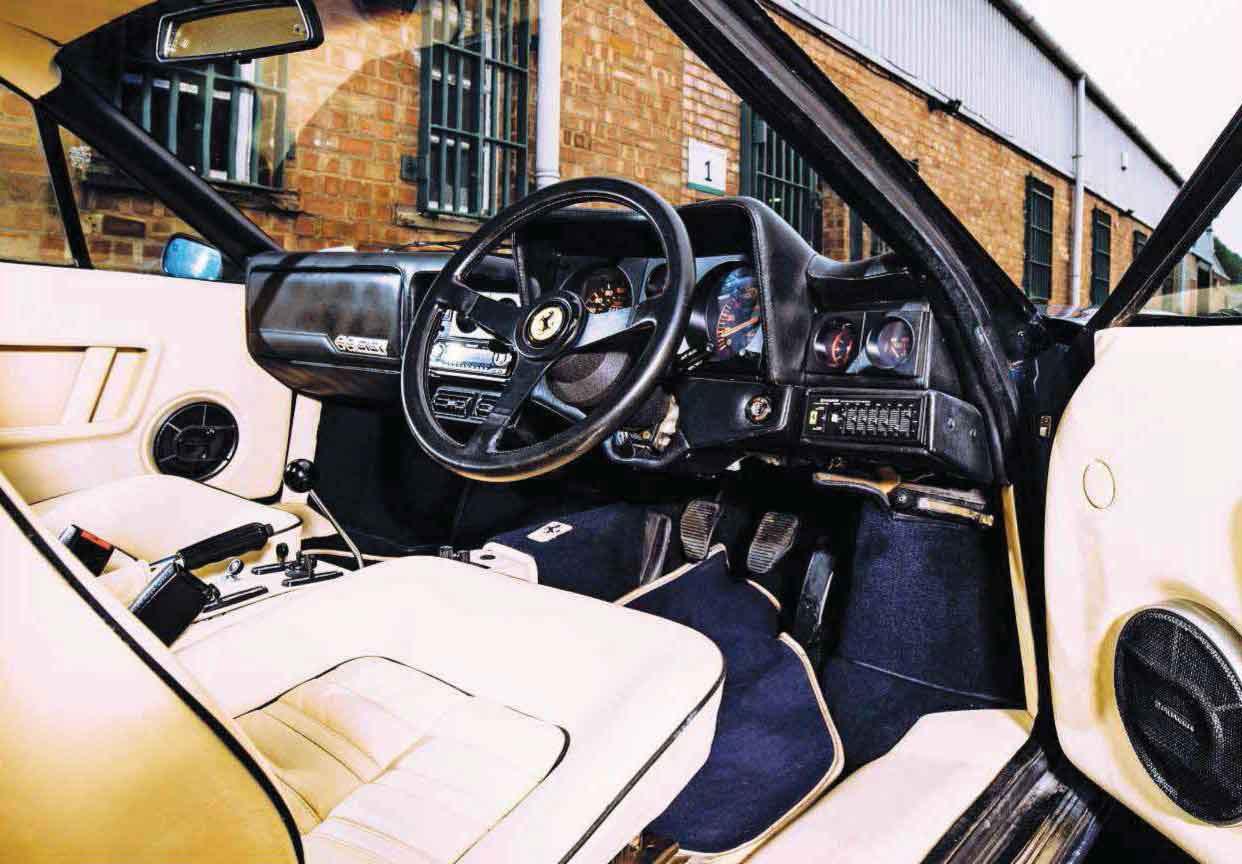 Ferrari 512i BB interior