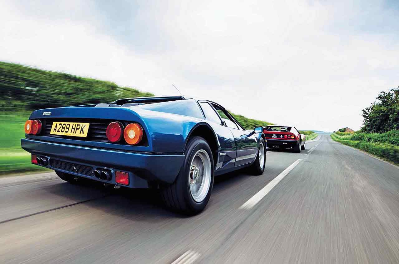 Ferrari's brilliant boxers BB celebration: we drive first 365 GT4 BB & last 512BBi