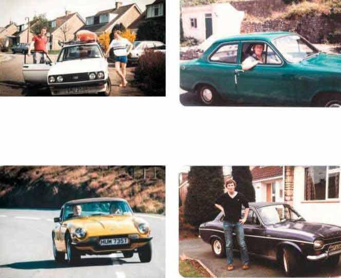 Chris Walker's motoring CV