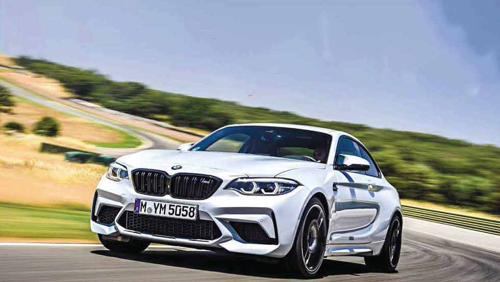 2019 BMW M2 Competition M DCT F87 - road and track test
