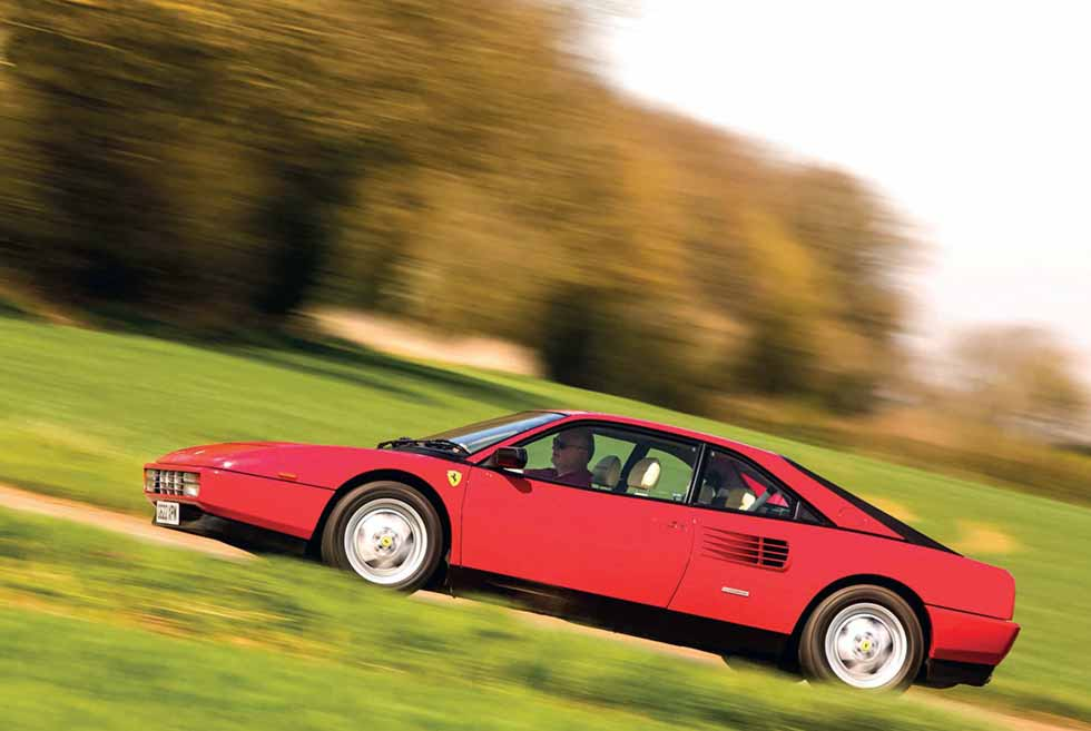 Ferrari Mondial road test / UK-reg G622 XPM