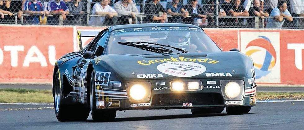 Ferrari BBS at Le Mans