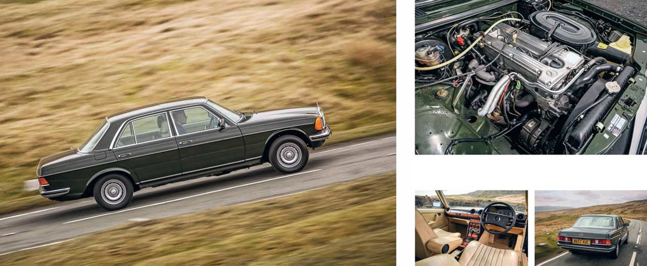1984 Mercedes-Benz 280E W123 - road test
