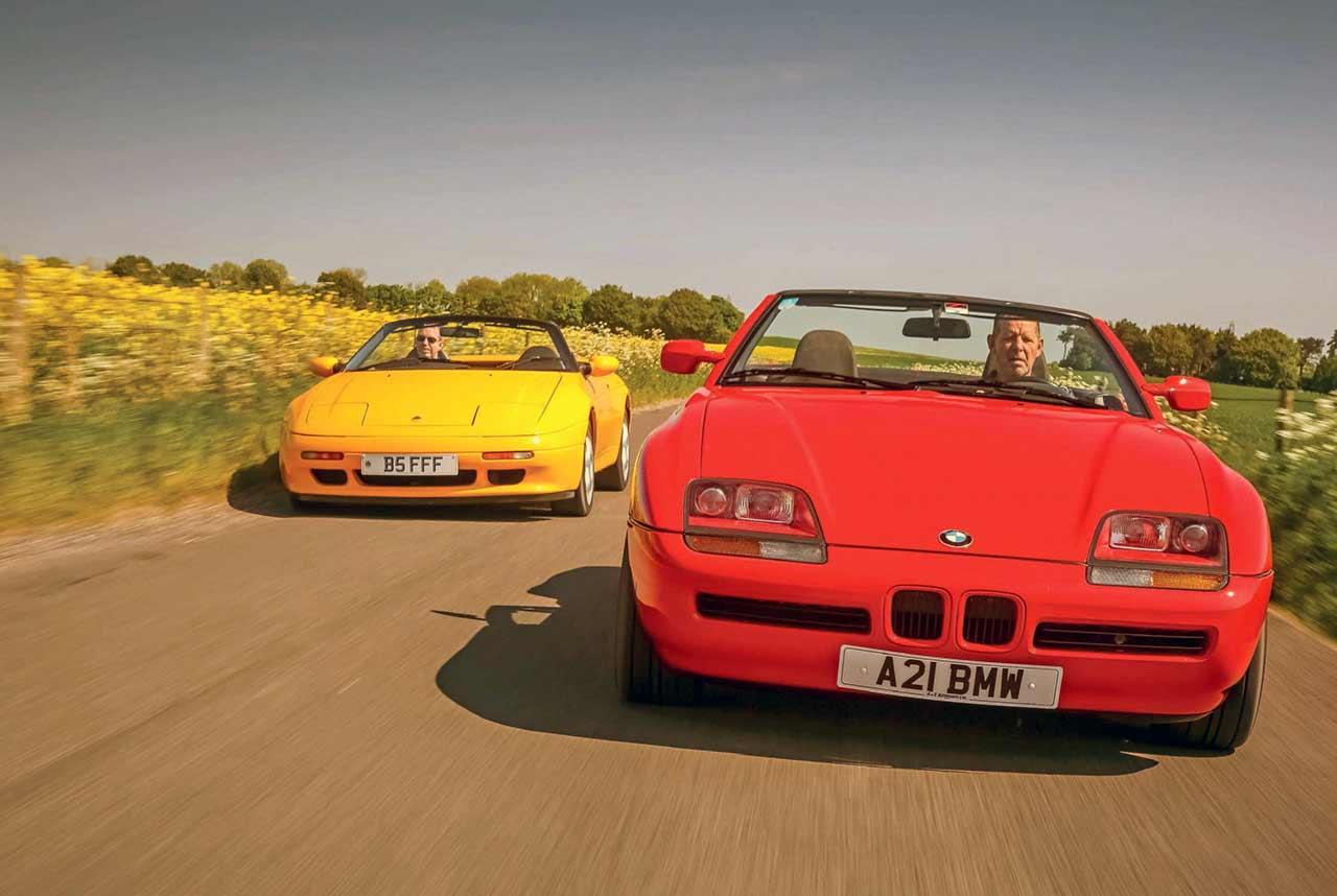 BMW Z1 E30 vs Lotus Elan M100