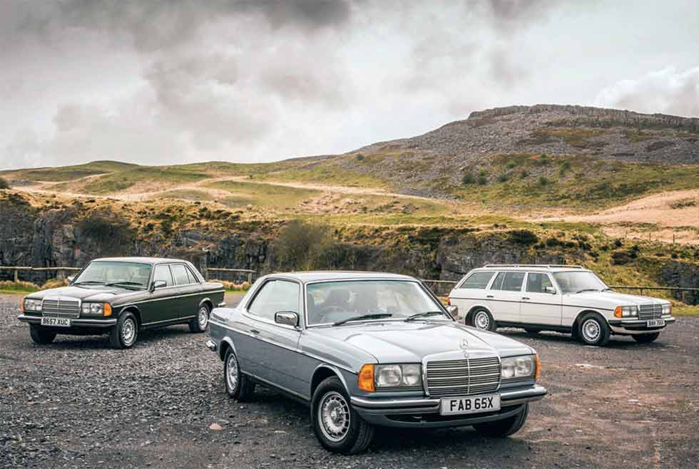 Mercedes-Benz 123-series M110-engined twin-cam 'six' and 4-spd Automatic 1984 280E W123, 1981 280CE C123 and 1985 280TE S123