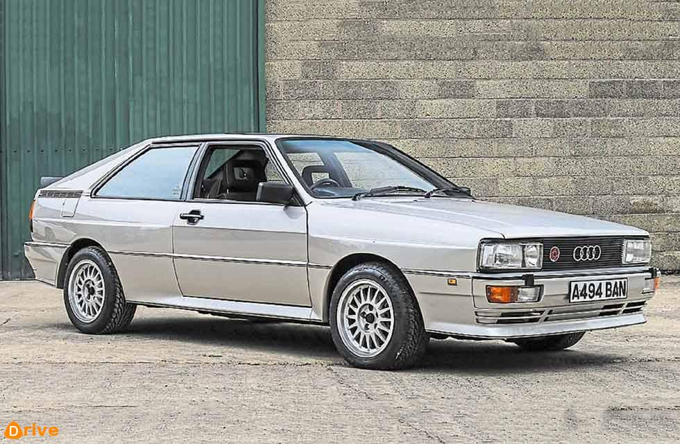 Audi Quattro raises £20,350 for charity