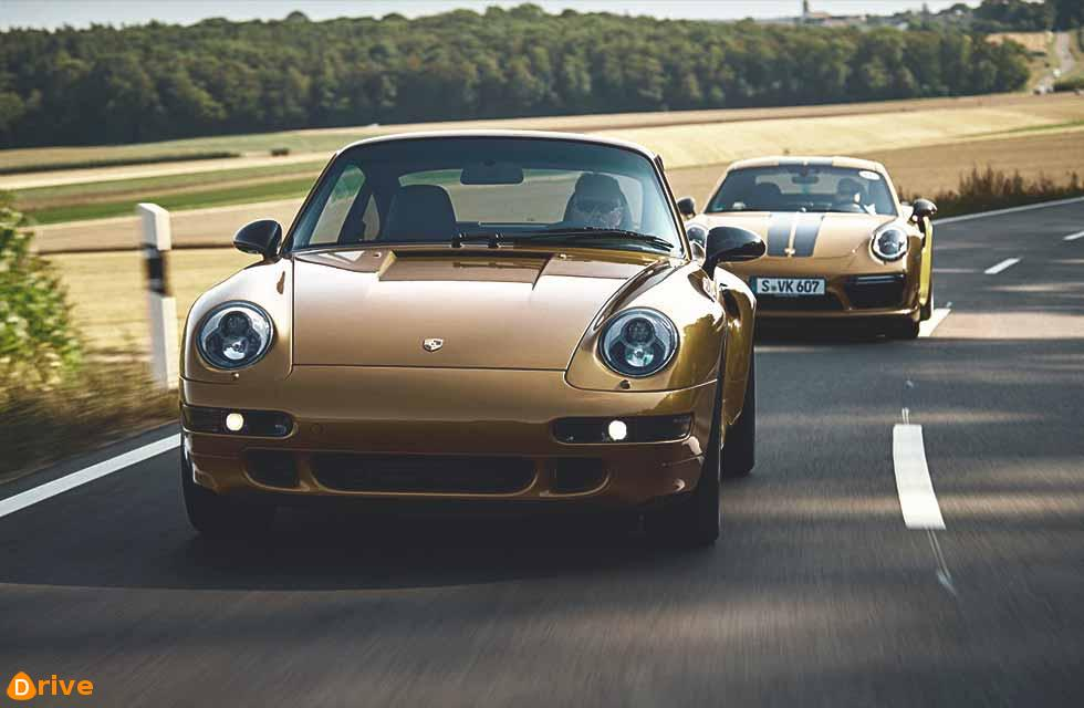 Porsche's Project Gold 911 is a brand-spankin'-new 993