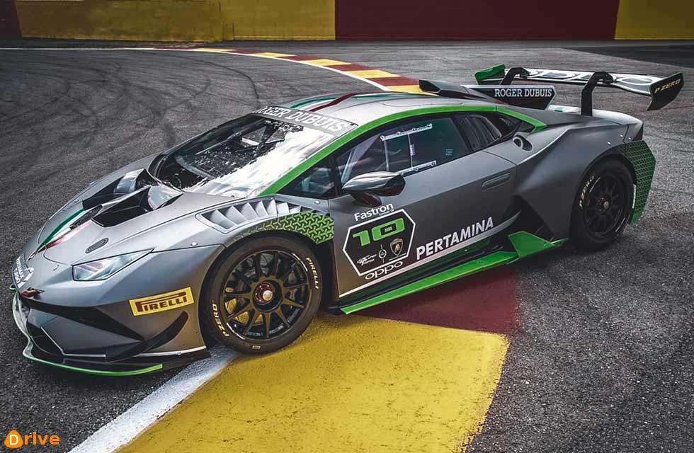 Special Lamborghini Huracan Super Trofeo Evo