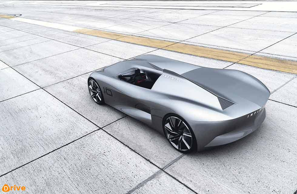Infiniti and beyond… Prototype'10 inspired by early Californian speedsters