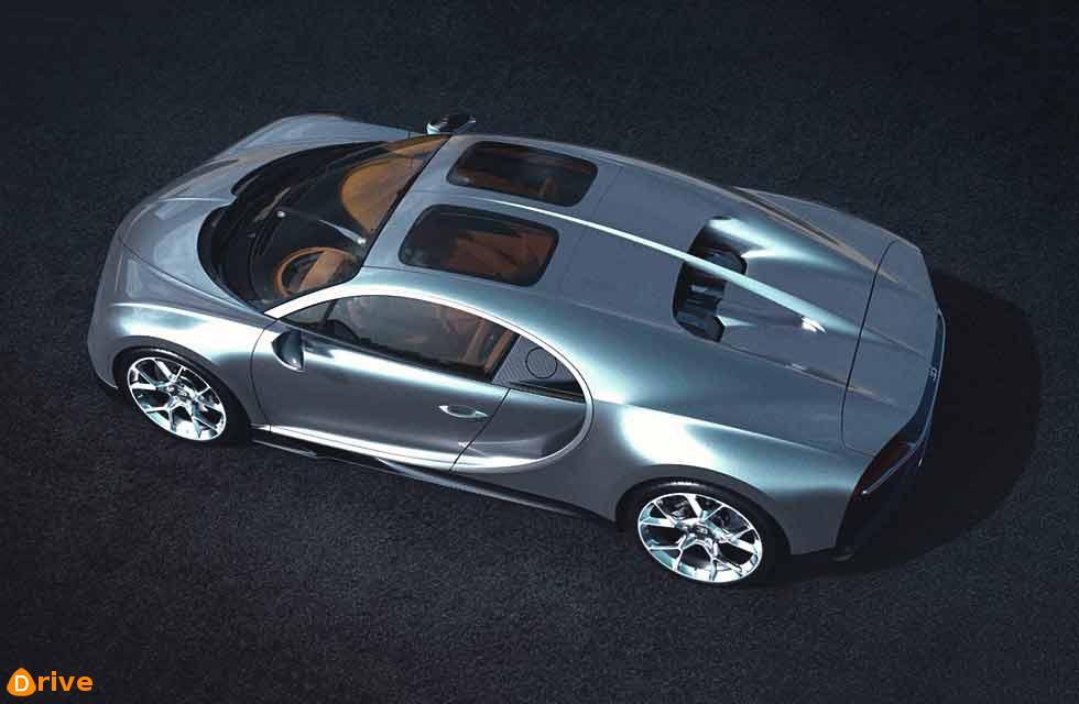 2019 Bugatti Chiron Sky View gains glass roof panels