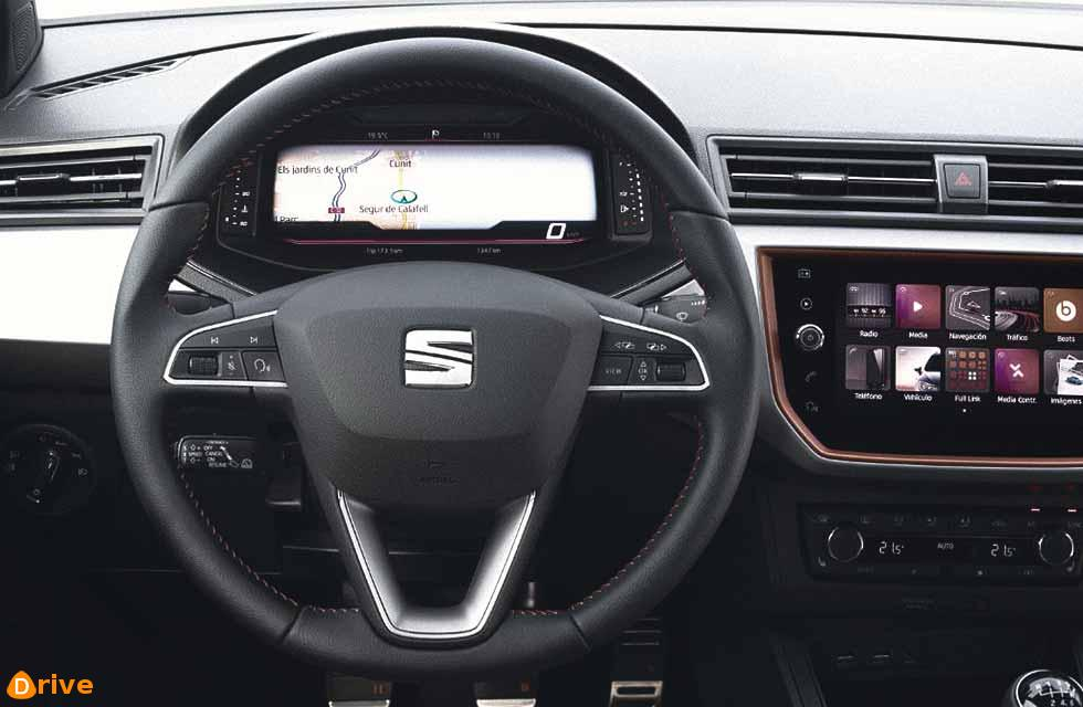 2019 SEAT get New Digital Cockpit