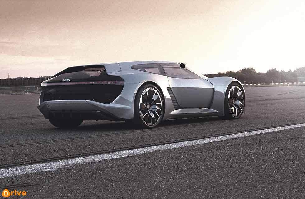Audi's race relation 764bhp electric road-car concept takes inspiration from Le Mans-winning racers.