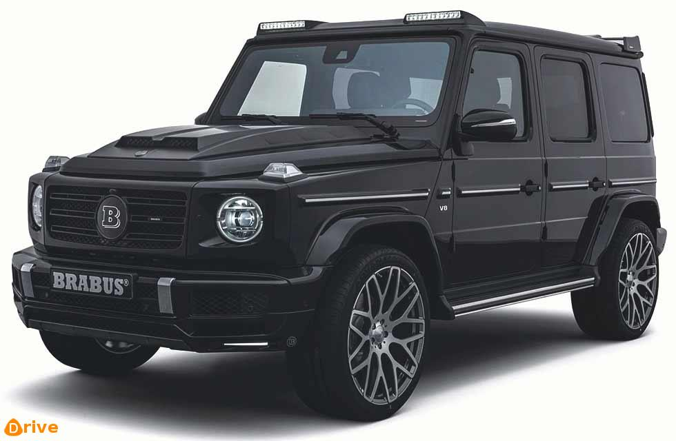 BRABUS G Class revealed  Mercedes tuning specialist