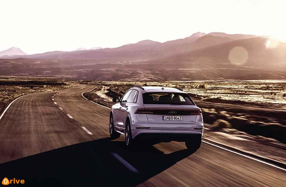 flagship SUV in the Audi range, the new Q8