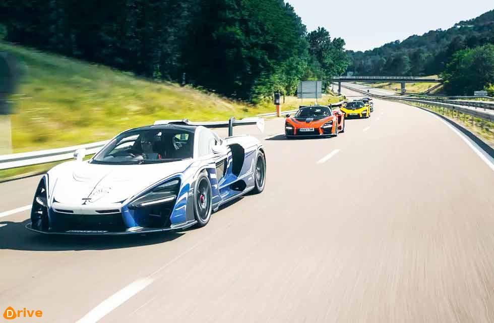First Customer McLaren Senna Takes 870-Mile Road Trip Right After Delivery