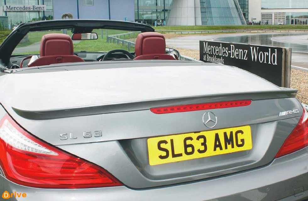 Mercedes most at risk in thefts from cars with cherished plates.