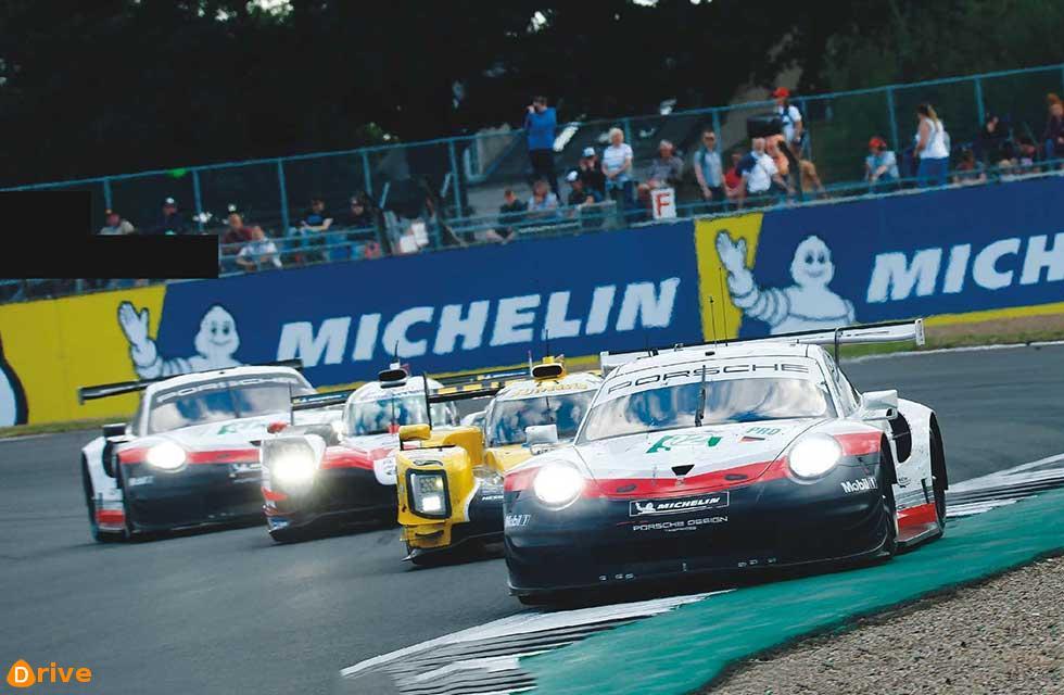 Podium for Porsche at Silverstone