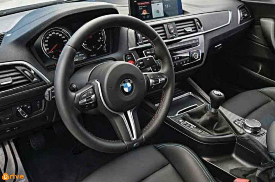 2018 BMW M2 Competition interior
