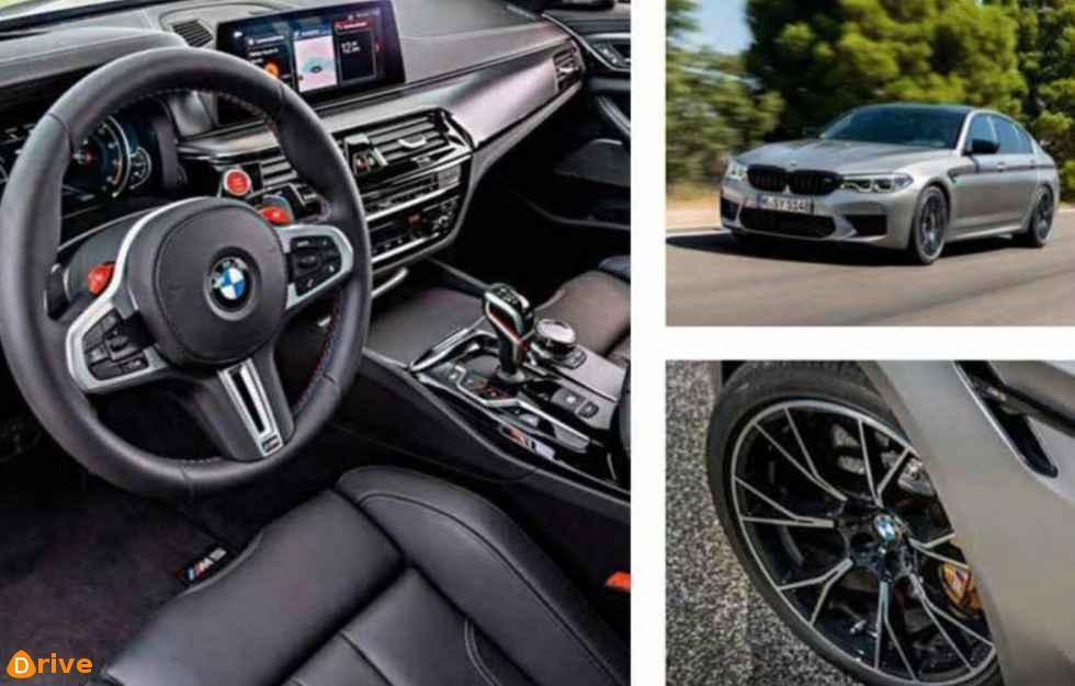 2018 BMW M5 F90 Competition interior