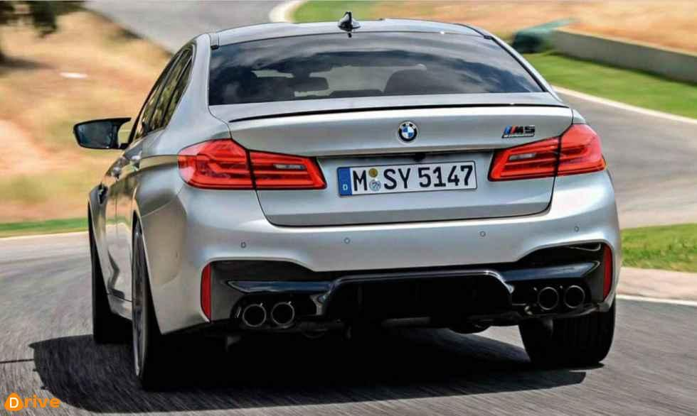 2018 BMW M5 F90 Competition