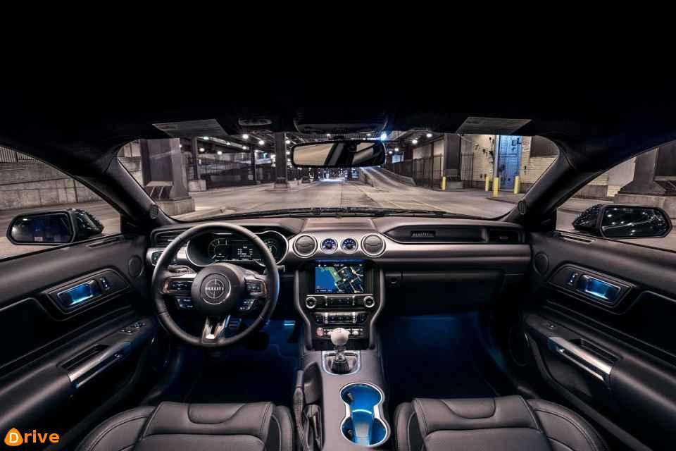 2018 Ford Mustang Bullitt interior