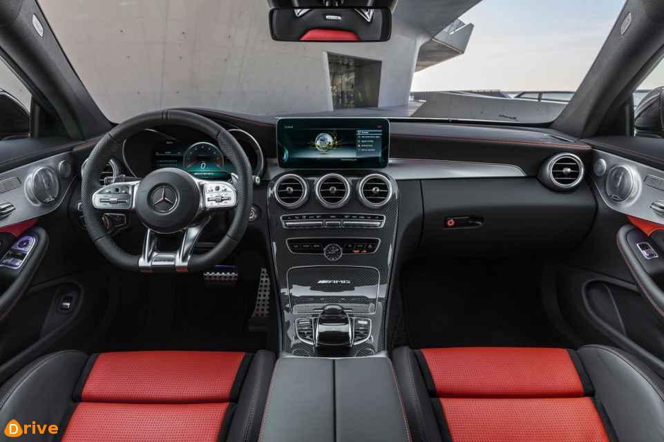 2018 Mercedes Benz AMG C63 interior