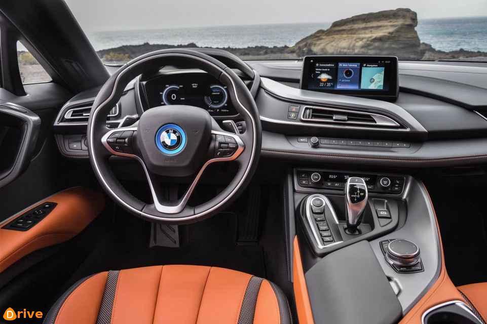 2018 BMW i8 Roadster interior