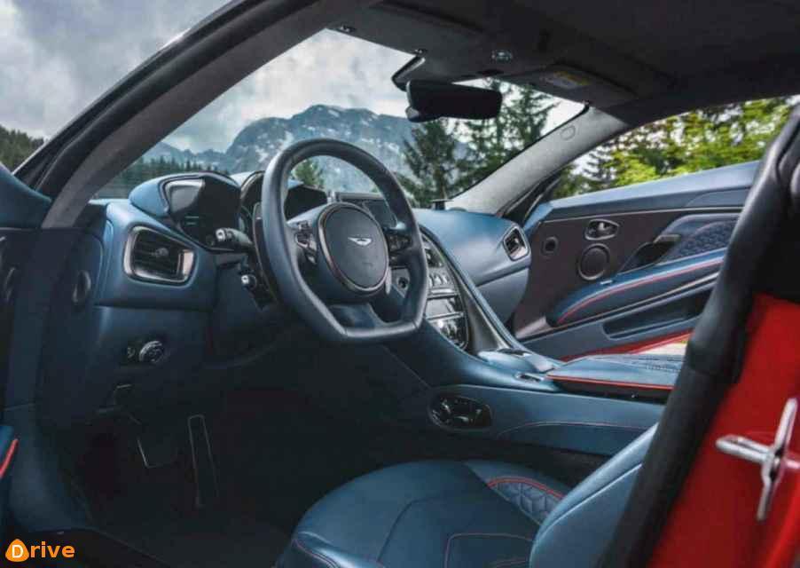 2019 Aston Martin DBS Superleggera interior