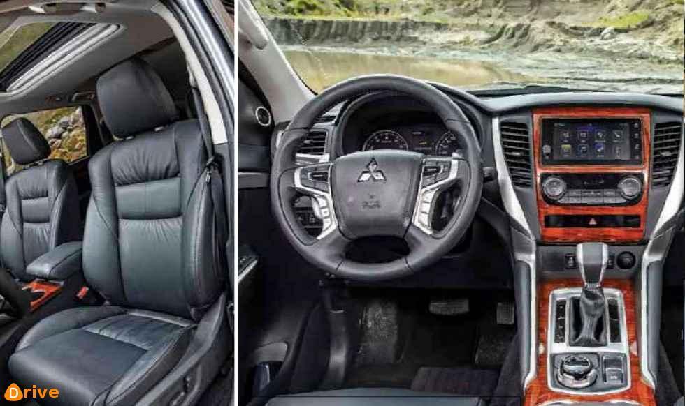 2018 Mitsubishi Montero Sport 4X4 interior
