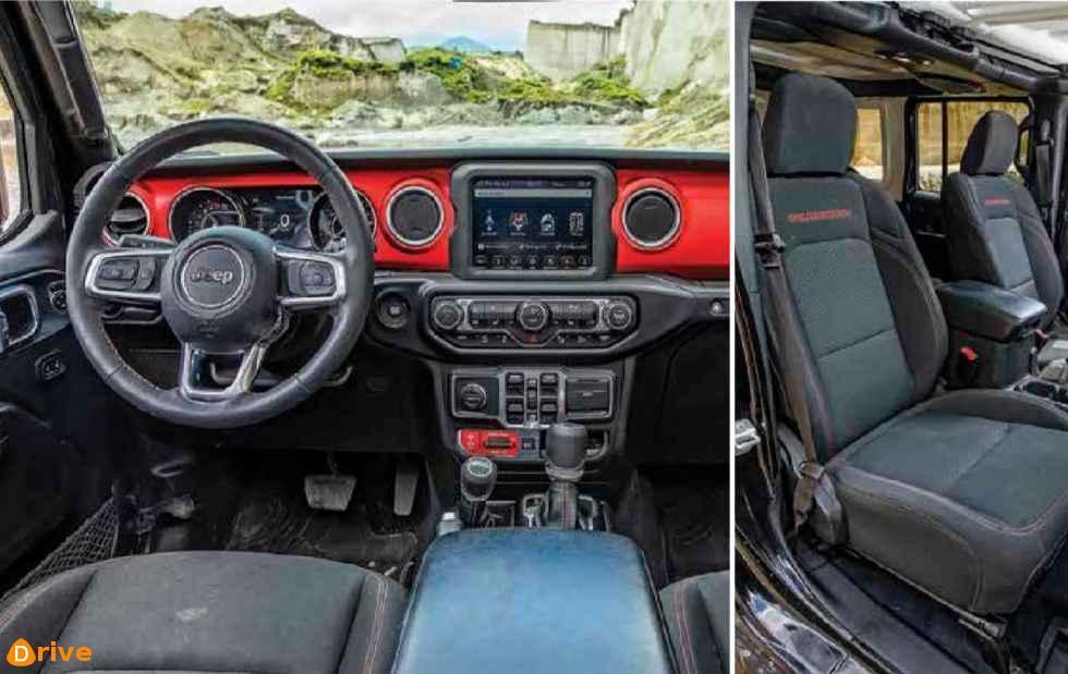 2018 Jeep Wrangler Unlimited Rubicon interior