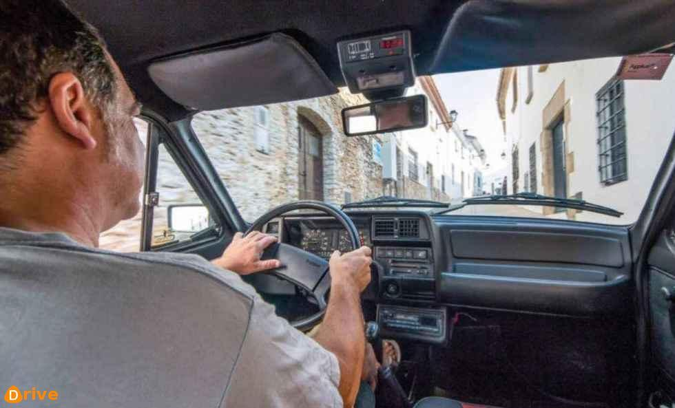 1983 Seat Fura Crono interior