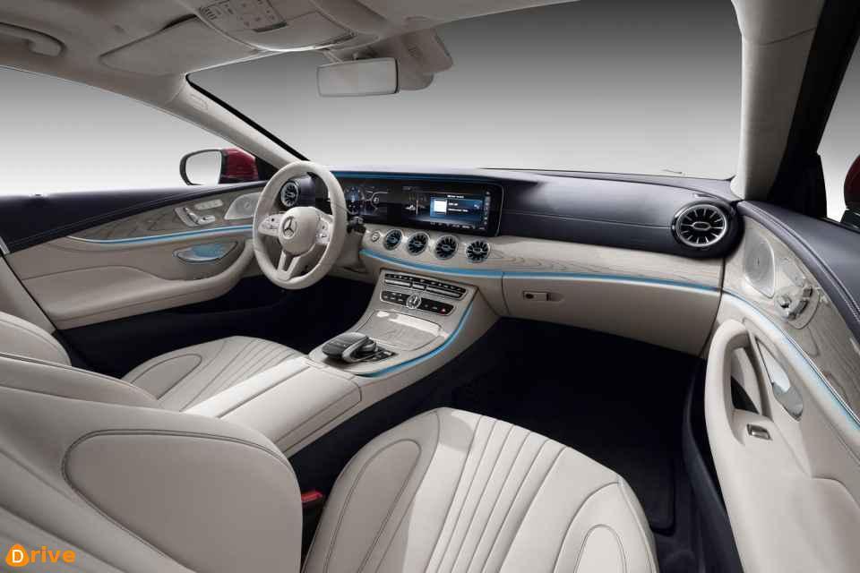 2018 Mercedes Benz CLS interior