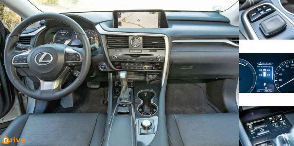 2019 Lexus RX 450h L interior
