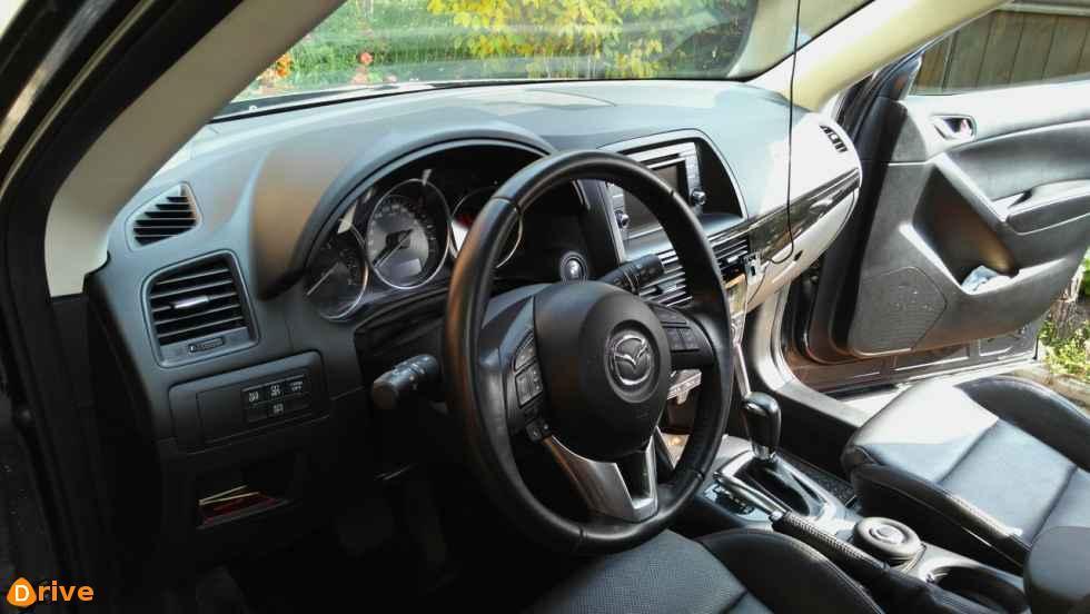 2014 Mazda CX 5 interior