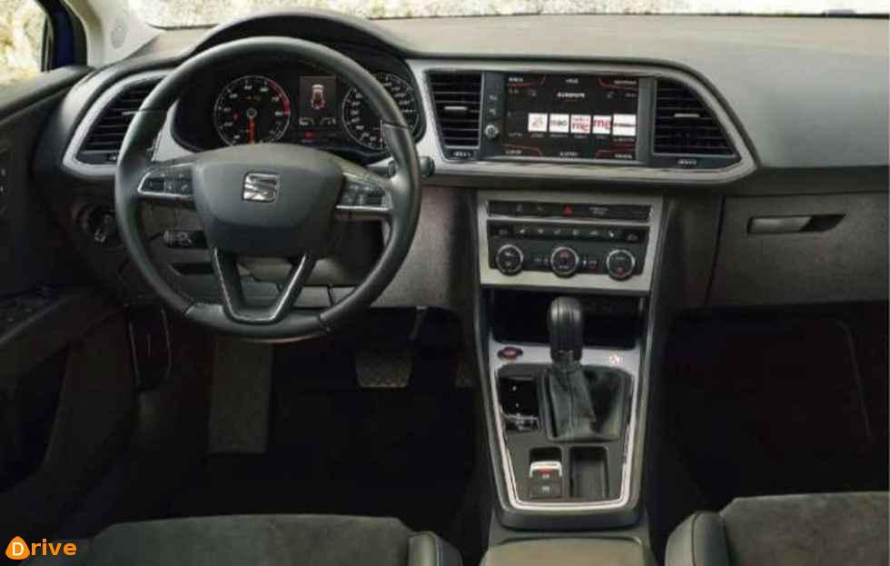 2018 Seat Leon ST interior