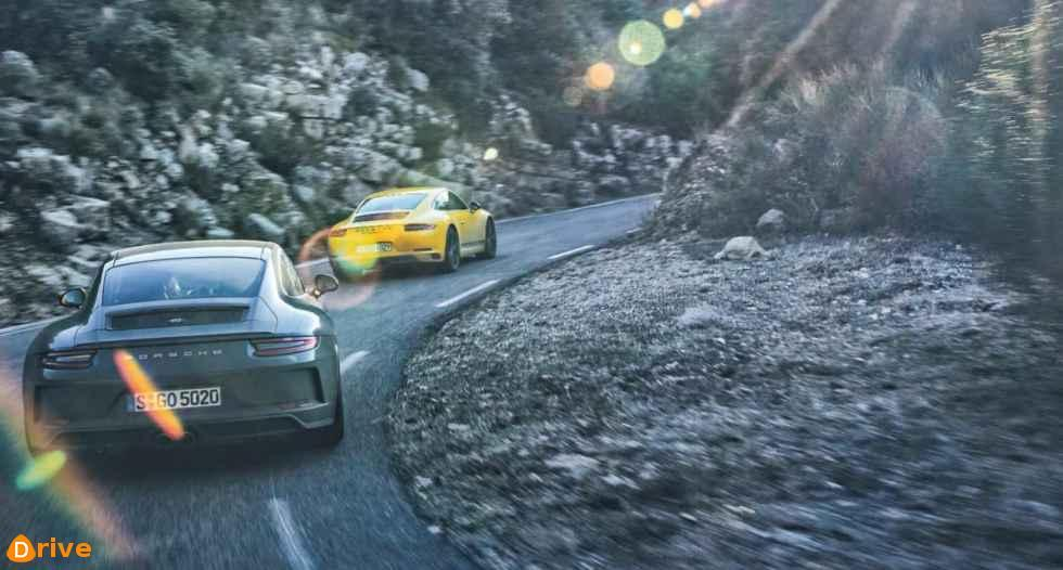 2018 porsche 911 T and GT3 Touring