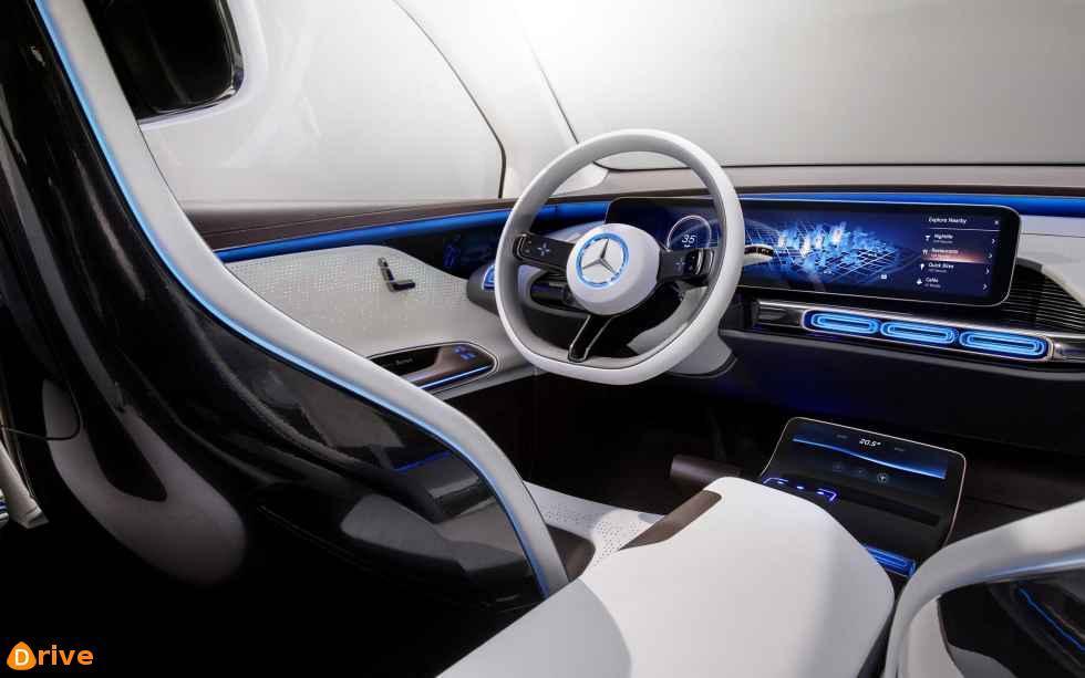 2019 Mercedes Benz EQC interior