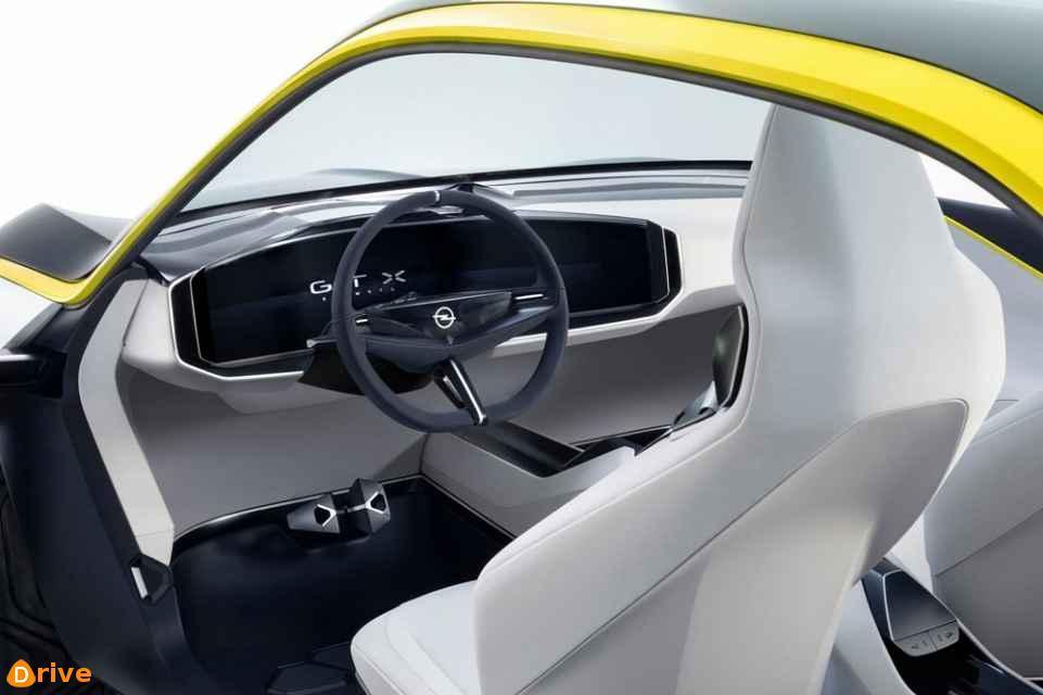 2020 Opel GT X Experimental interior
