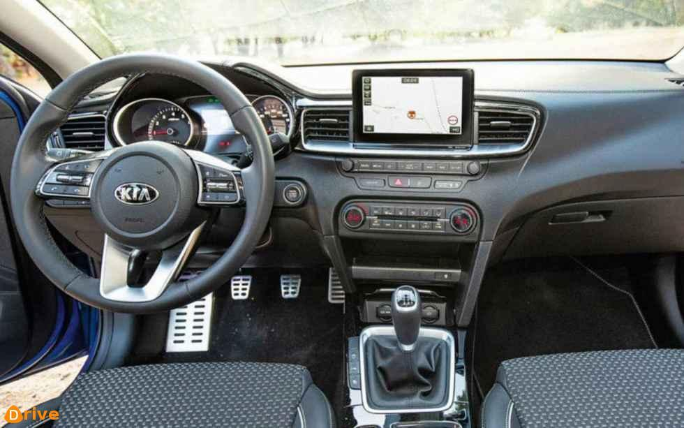 2018 KIA Ceed 1.0 T GDI interior