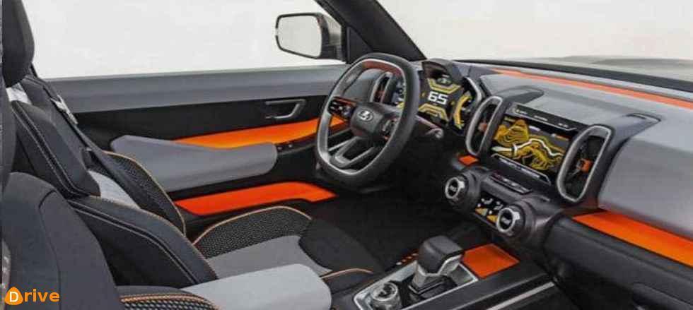2022 LADA 4X4 vision interior