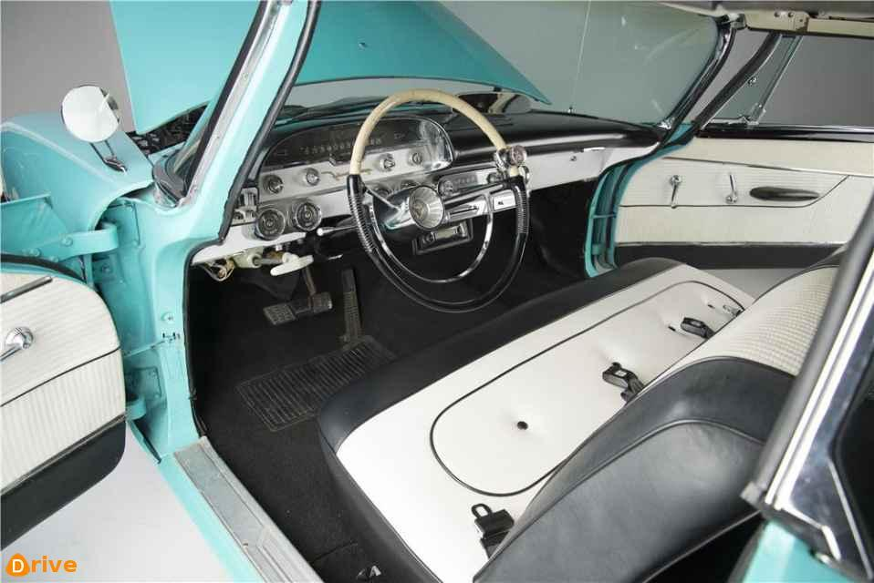 1958 desoto firesweep interior